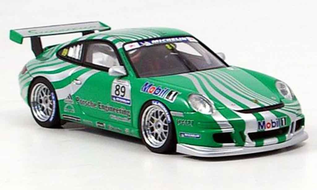 Porsche 997 GT3 CUP 1/43 Autoart GT3 Cup 2006 Car grun miniature