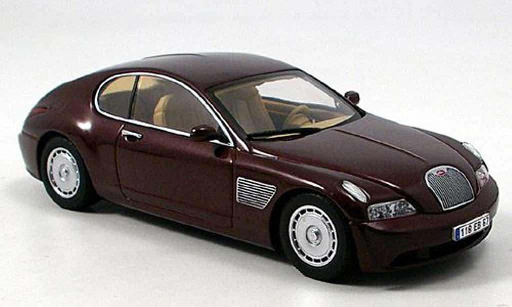Bugatti EB118 1/43 Autoart rouge Genf 2000 miniature
