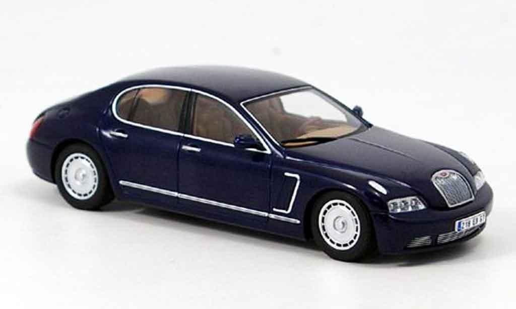 Bugatti EB218 1/43 Autoart bleu genf 1999 miniature