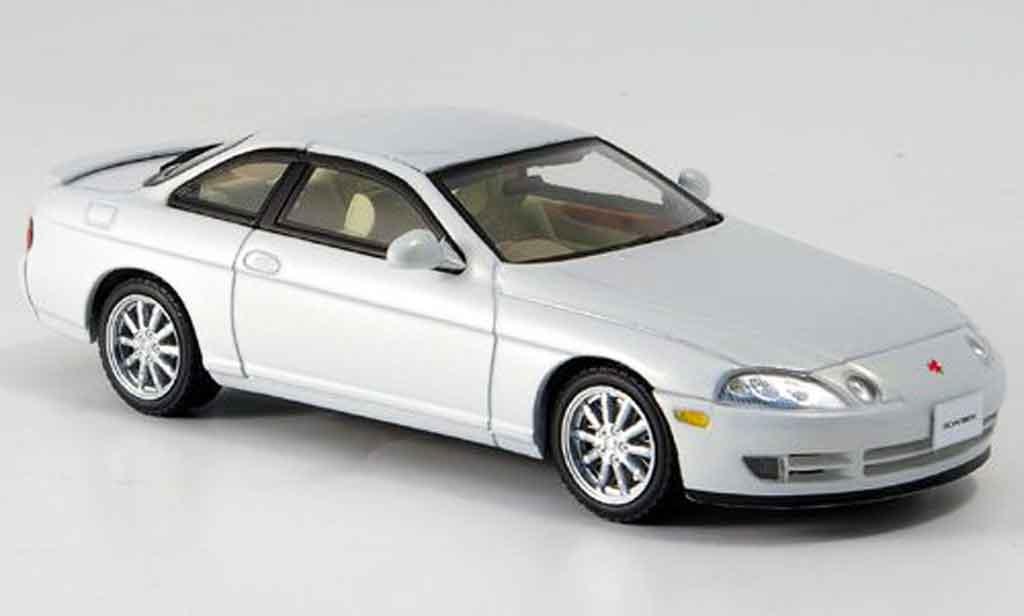 Toyota Soarer 1/43 Kyosho 2.5gt twin turbo l white 1991 diecast model cars