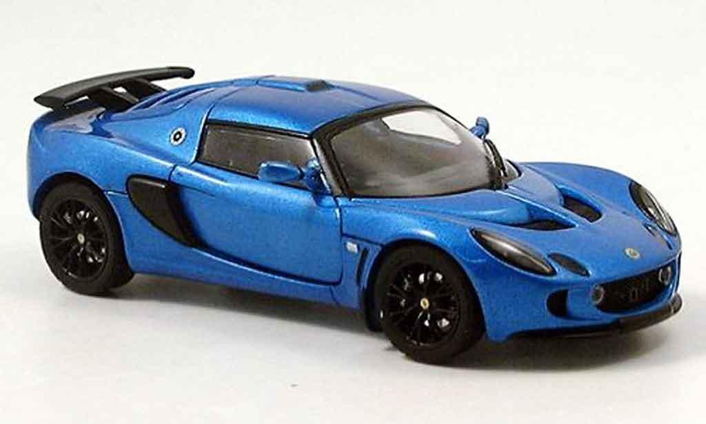 Lotus Exige 1/43 Autoart mk ii bleu 2005 modellautos