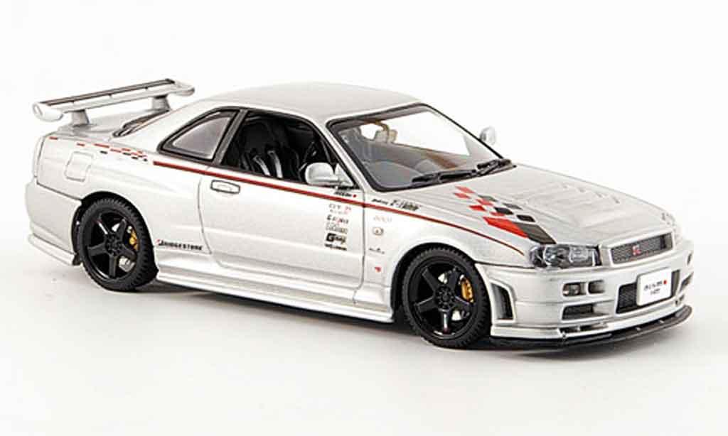 Nissan Skyline R34 1/43 Autoart nismo Z Tune 2001 miniature