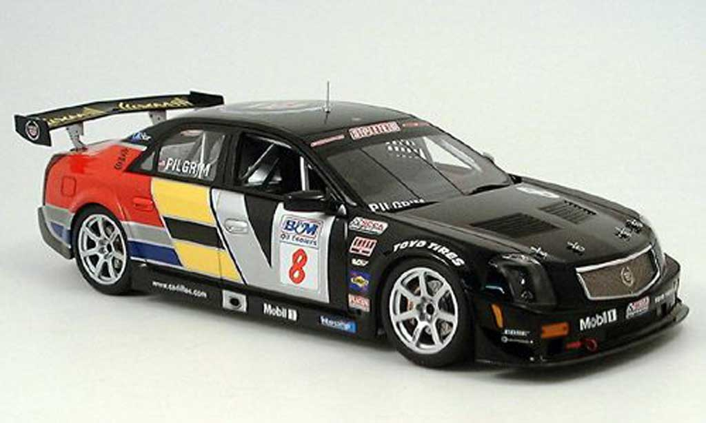 Cadillac CTS-V 1/18 Autoart no.8 scca world challenge 2005 miniature