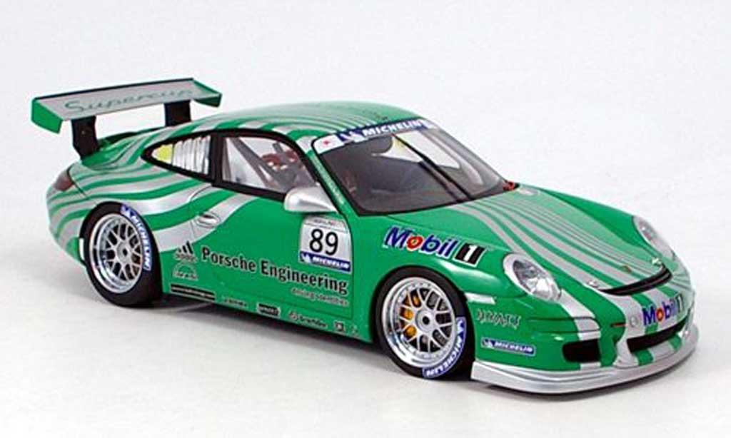 Porsche 997 GT3 Cup 2006 1/18 Autoart sc vip car green diecast