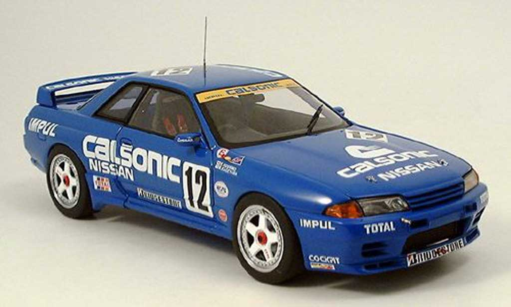 nissan skyline r32 gtr calsonic 1993 autoart modellauto 1 18 kaufen verkauf modellauto. Black Bedroom Furniture Sets. Home Design Ideas