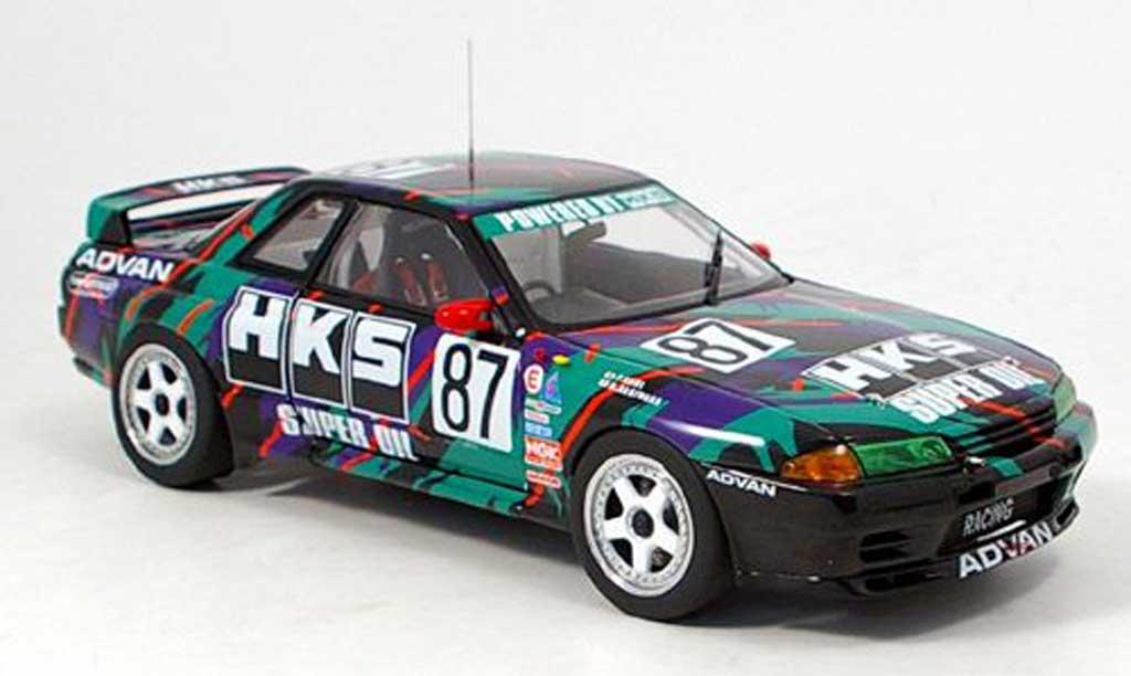 Nissan Skyline R32 1/18 Autoart gtr hks skyline no.87 1993 miniatura