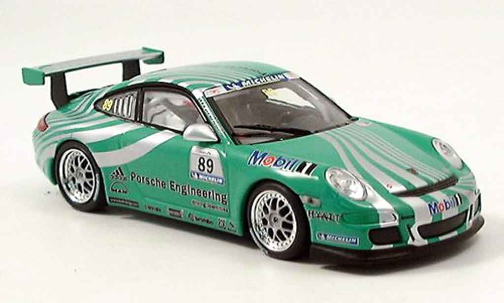 Porsche 997 GT3 CUP 1/43 Minichamps GT3 Cup Racing No.89 grun diecast model cars