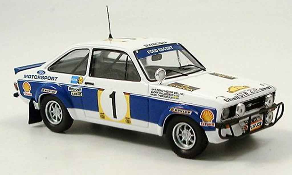 Ford Escort MK2 1/43 Trofeu MKIIWorks Team Rally Safari 1977 miniature