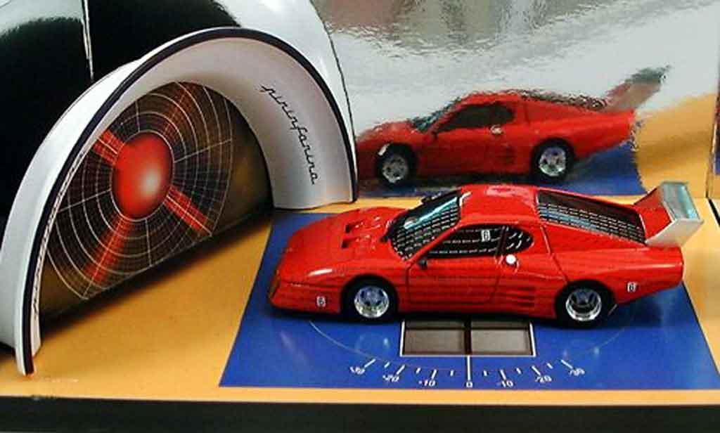 Ferrari 512 BB 1/43 Brumm diorama im pininfarina windtunnel 1979 miniatura