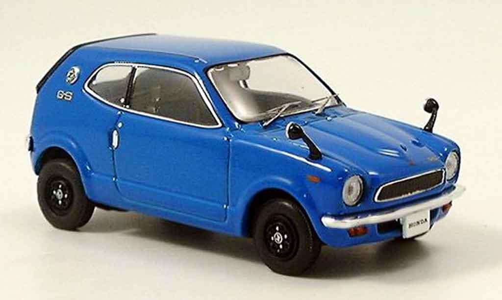 Honda Z 1970 1/43 Ebbro 1970 bleu miniature