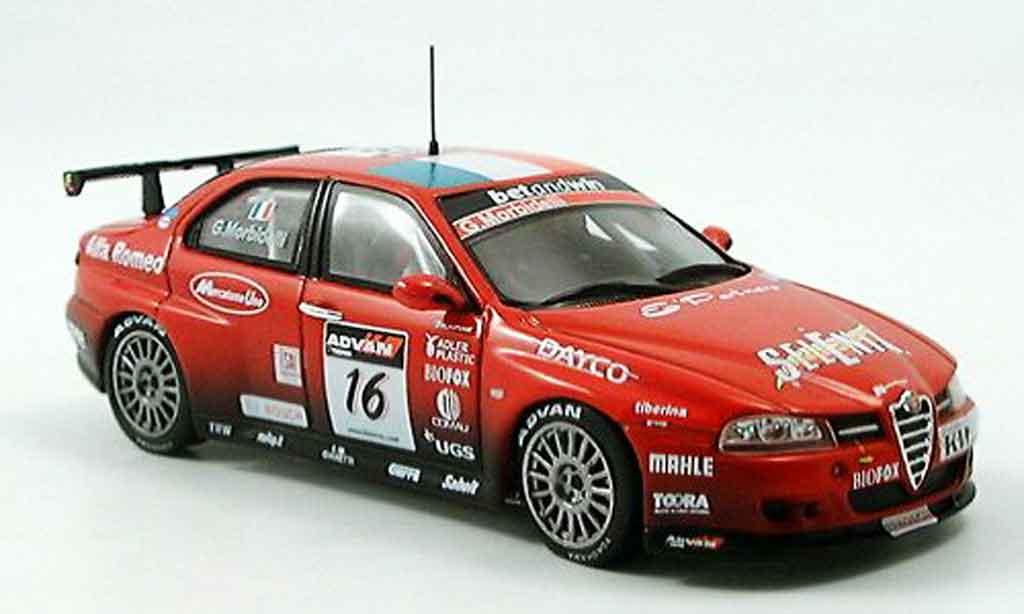 Alfa Romeo 156 GTA WTCC 1/43 Spark no.16 g.morbidelli wtcc 2006 miniature