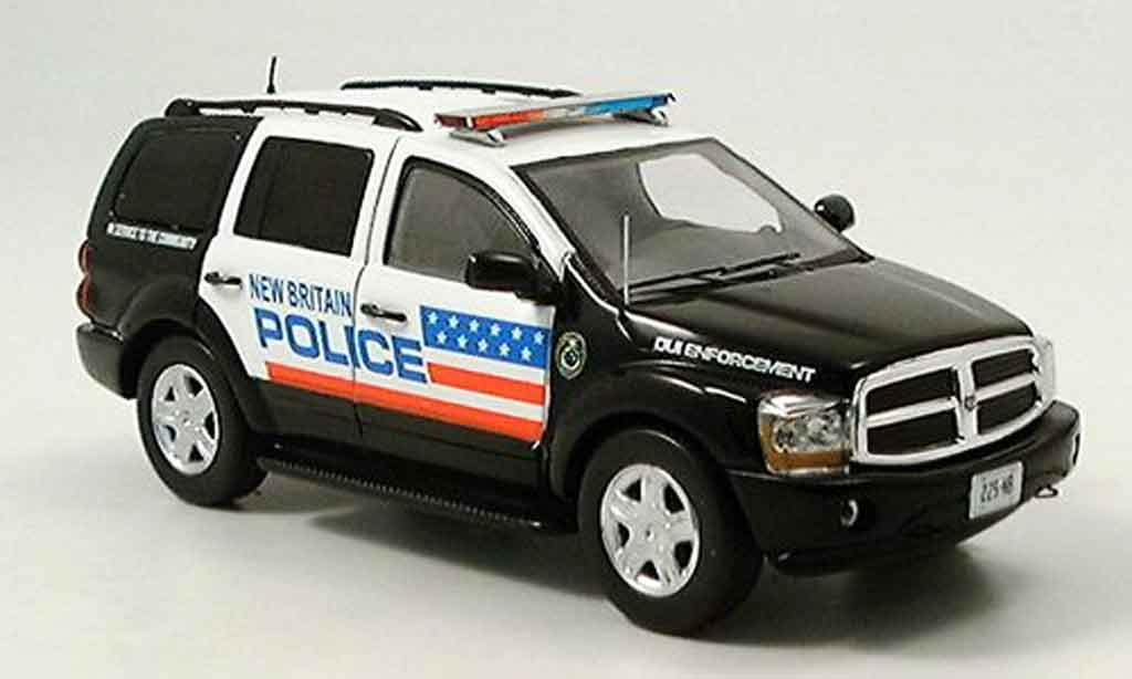 Dodge Magnum Police 1/43 Spark Durango New Britain miniature
