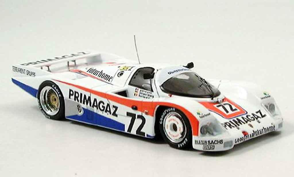 Porsche 962 1987 1/43 Spark No.72 Primagazzweiter Le Mans diecast