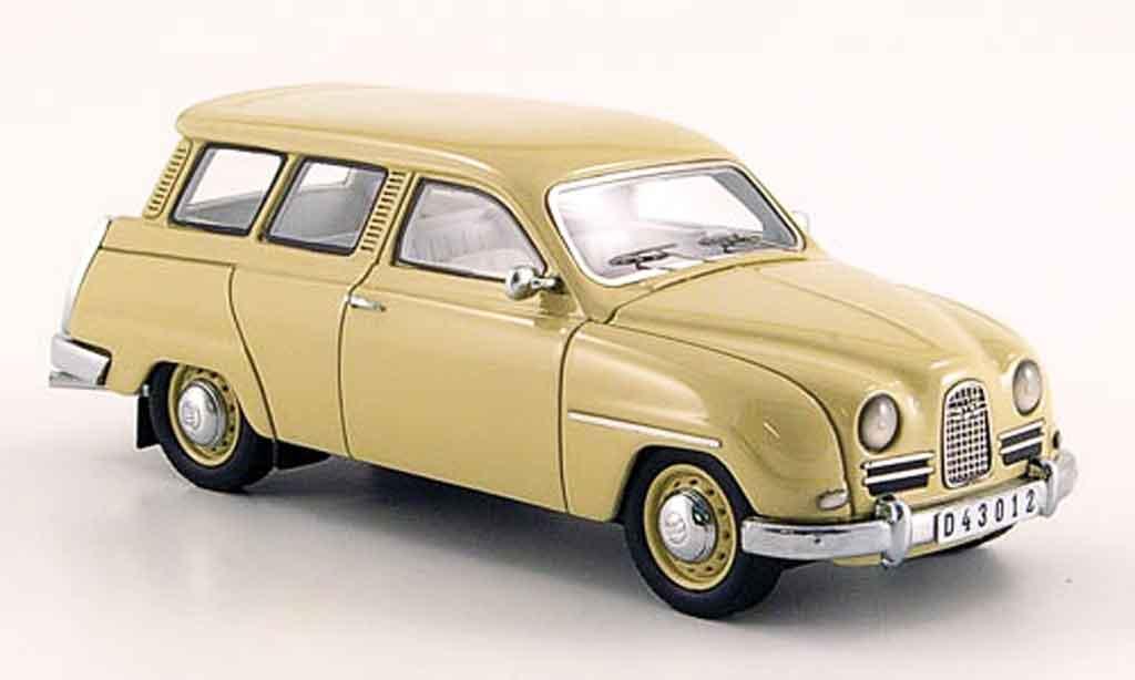 Saab 95 1/43 Neo beige 14 miniature