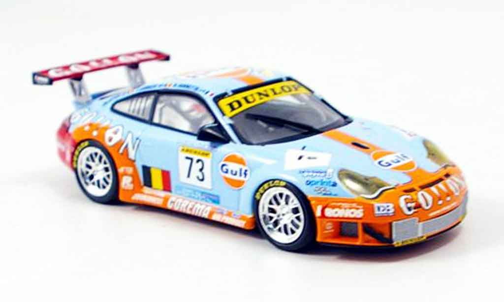 Porsche 996 GT3 RSR 1/43 Minichamps Ice Pol Racing miniature