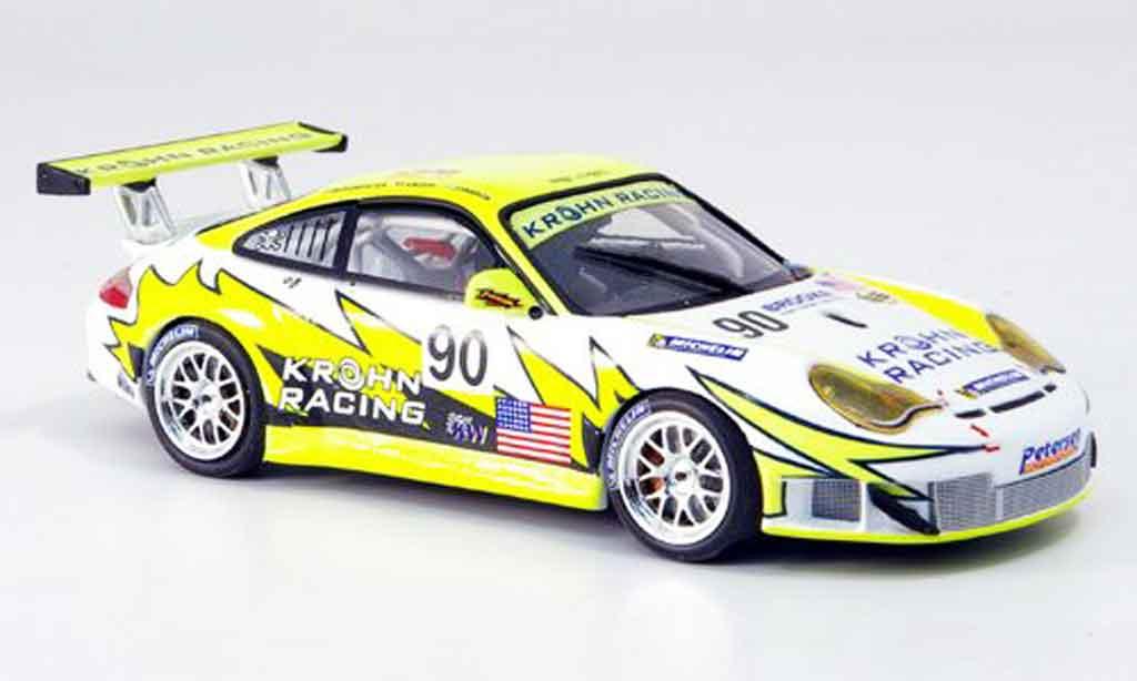 Porsche 996 GT3 RSR 1/43 Minichamps White Lightning Racing miniature
