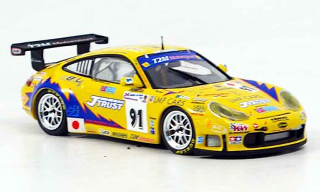 Porsche 996 GT3 RS 1/43 Minichamps T2M Motorsport diecast model cars