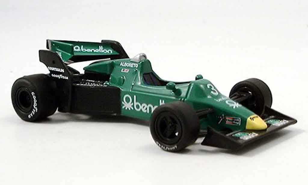 Tyrrell 012 1/43 RBA Collectibles Ford 1983 miniature