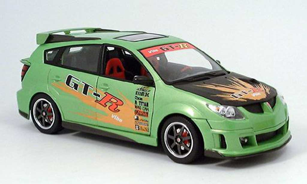 Pontiac Vibe 1/18 Yat Ming tuner grun 2003 miniature