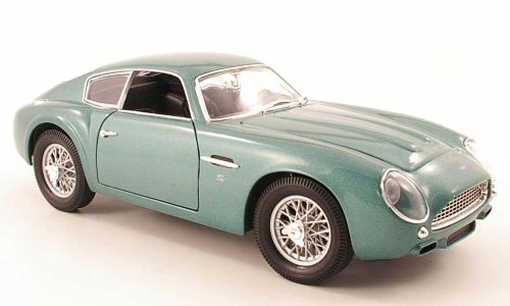 Aston Martin DB4 1/18 Maisto gt zagato grun 1961 miniature