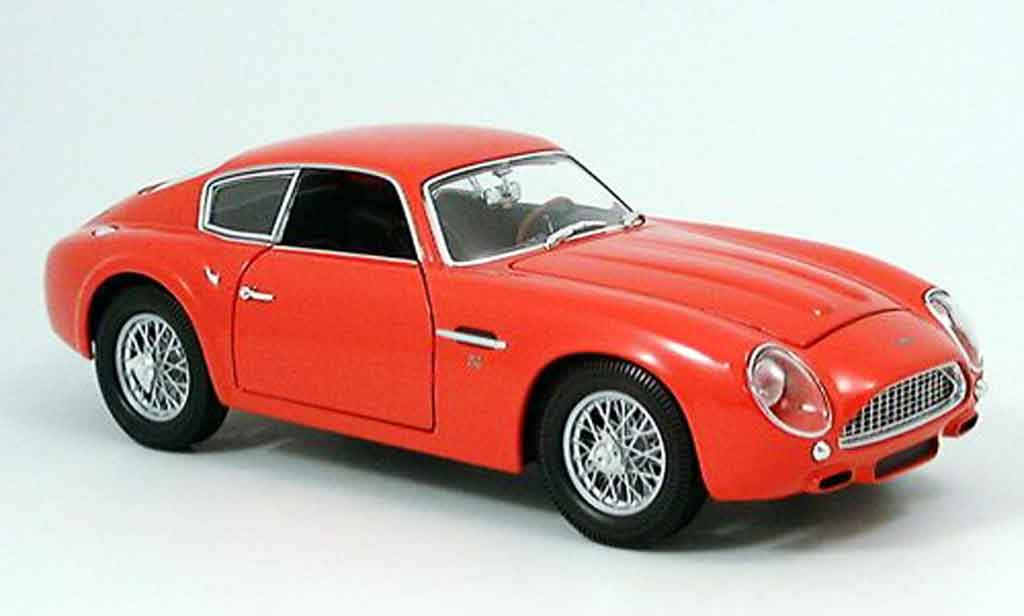 Aston Martin DB4 1/18 Yat Ming gt zagato rouge 1961 miniature