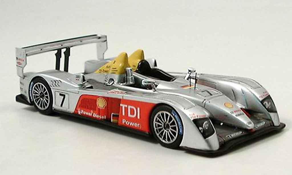 Audi ST 1/43 Spark Joest No.7 dritter Le Mans 2006 diecast model cars