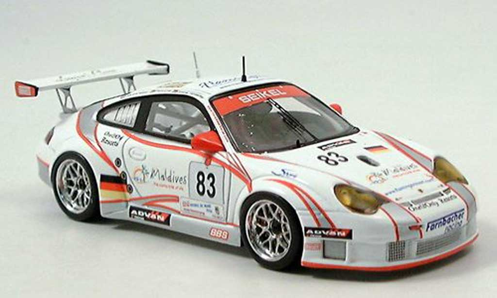 Porsche 996 GT3 RSR No.83 Seikel Motorsport 24h Le Mans 2006 Spark. Porsche 996 GT3 RSR No.83 Seikel Motorsport 24h Le Mans 2006 Le Mans miniature 1/43