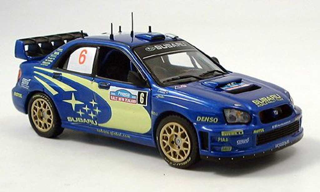 Subaru Impreza WRC 1/43 IXO No.6 Atkinson Rally Neuseeland 2005 modellautos