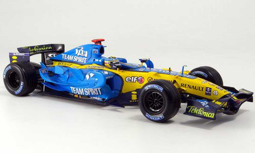 Renault F1 1/18 Hot Wheels konstrukteurs-weltmeister 2006 miniature
