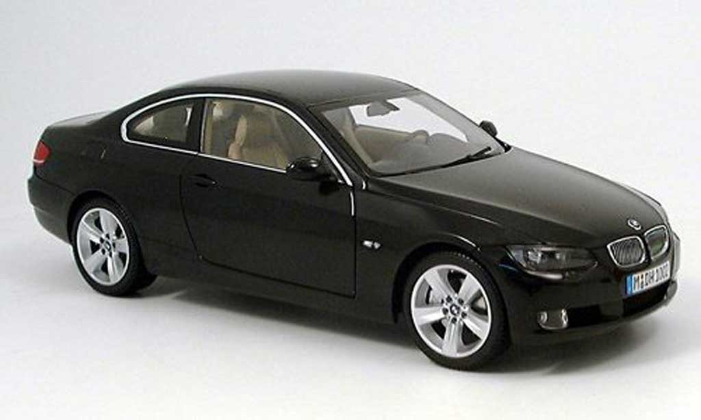 Bmw Serie 3 E92 Coupe Negro 2006 Kyosho Coches