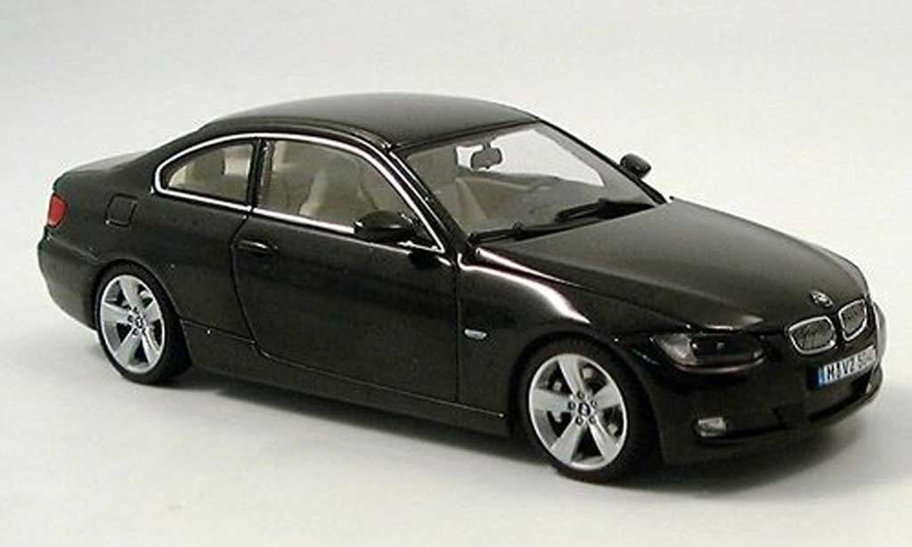 Bmw 335 E92 1/43 Autoart Coupe black 2006 diecast