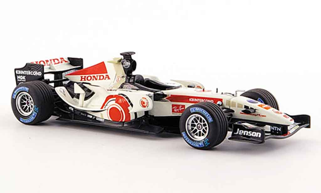 Honda F1 1/43 Minichamps Racing RA 106 J.Button Erster Sieg 2006 miniature