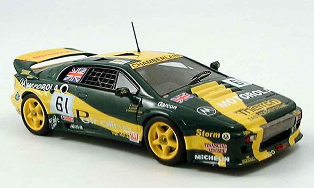 Lotus Esprit 1/43 Spark s 300 no.61 motorola 24h le mans 1994 miniature