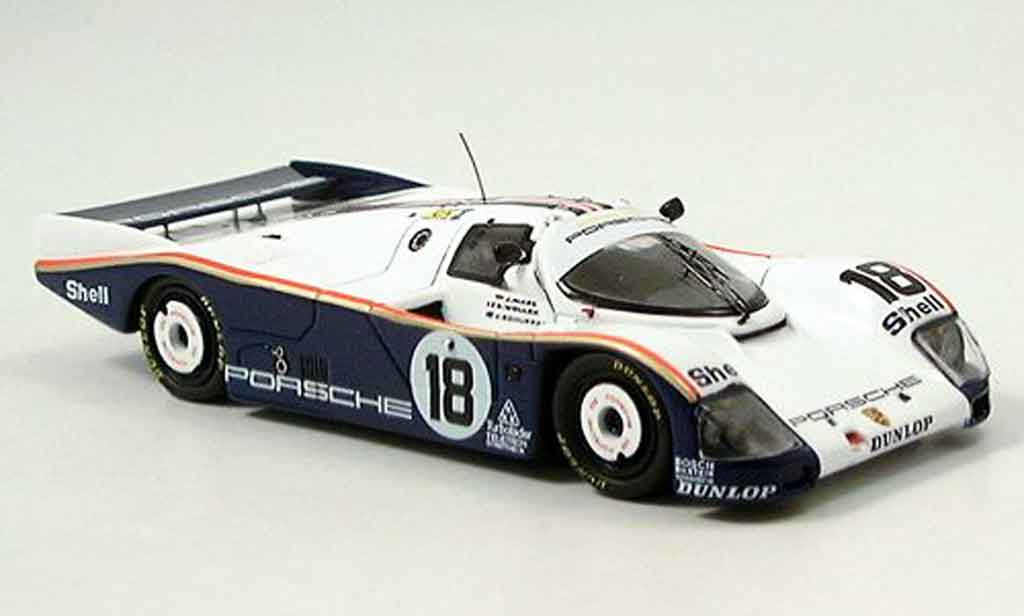 Porsche 962 1987 1/43 Spark No.18 Le Mans diecast model cars