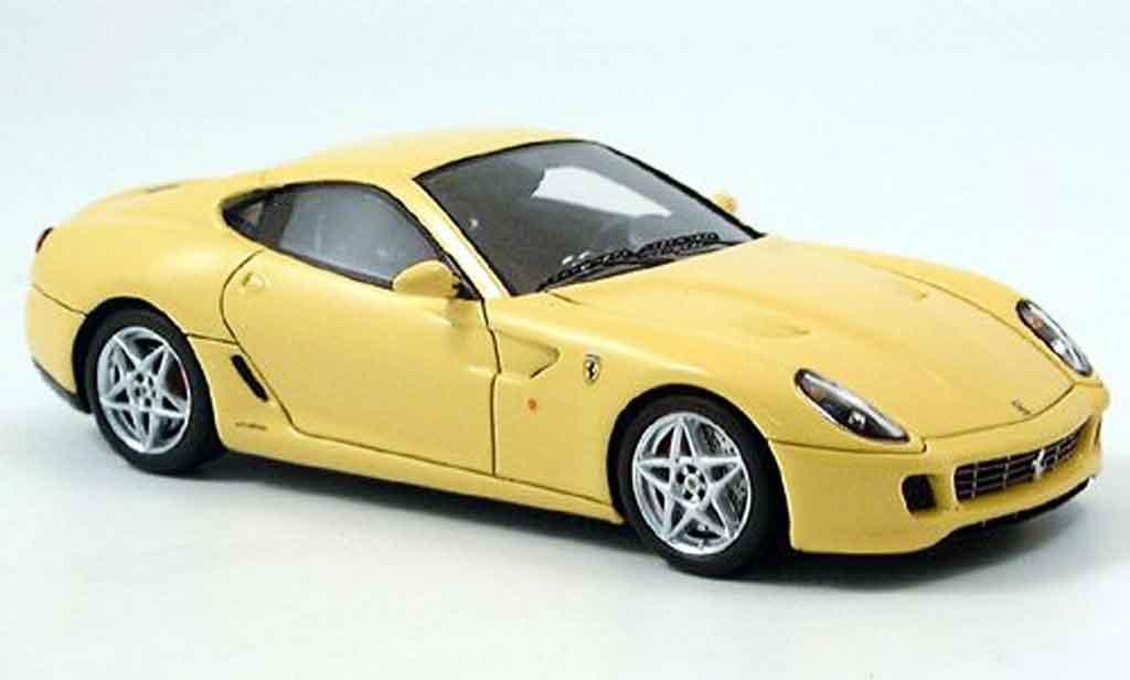 Ferrari 599 GTB 1/43 Red Line yellow 2006 diecast model cars
