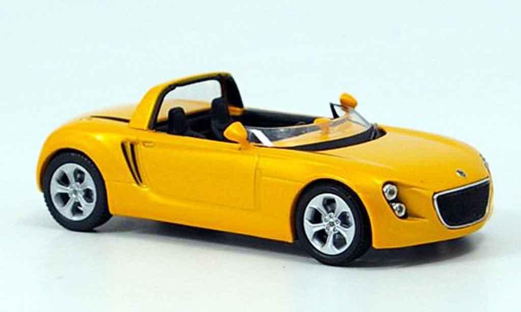 Volkswagen Eco racer 1/43 Norev jaune tokyo 2005 miniature