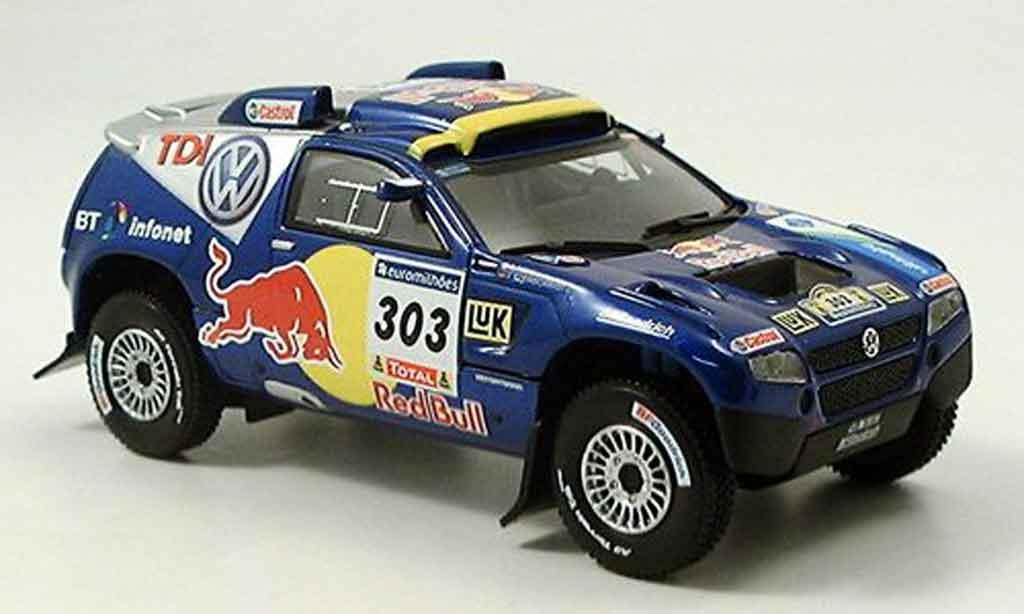 Volkswagen Touareg 1/43 Norev race no.303 rallye dakar 2006 miniature