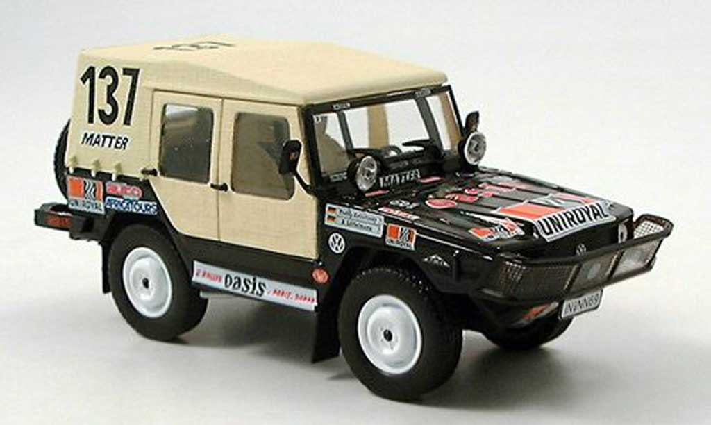 Volkswagen Iltis 1/43 Norev No.137 Paris Dakar Rally 1980 diecast model cars
