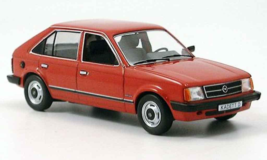 Opel Kadett D 1/43 Schuco rouge 1979 1984