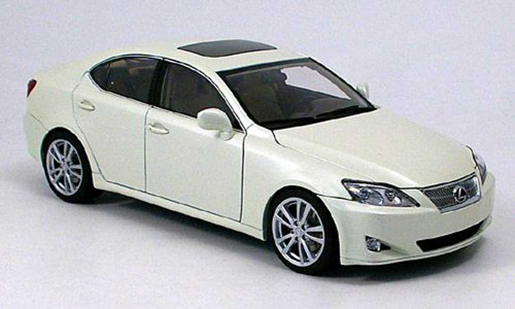 lexus is 350 white 2006 autoart diecast model car 1 18 buy sell diecast car on. Black Bedroom Furniture Sets. Home Design Ideas