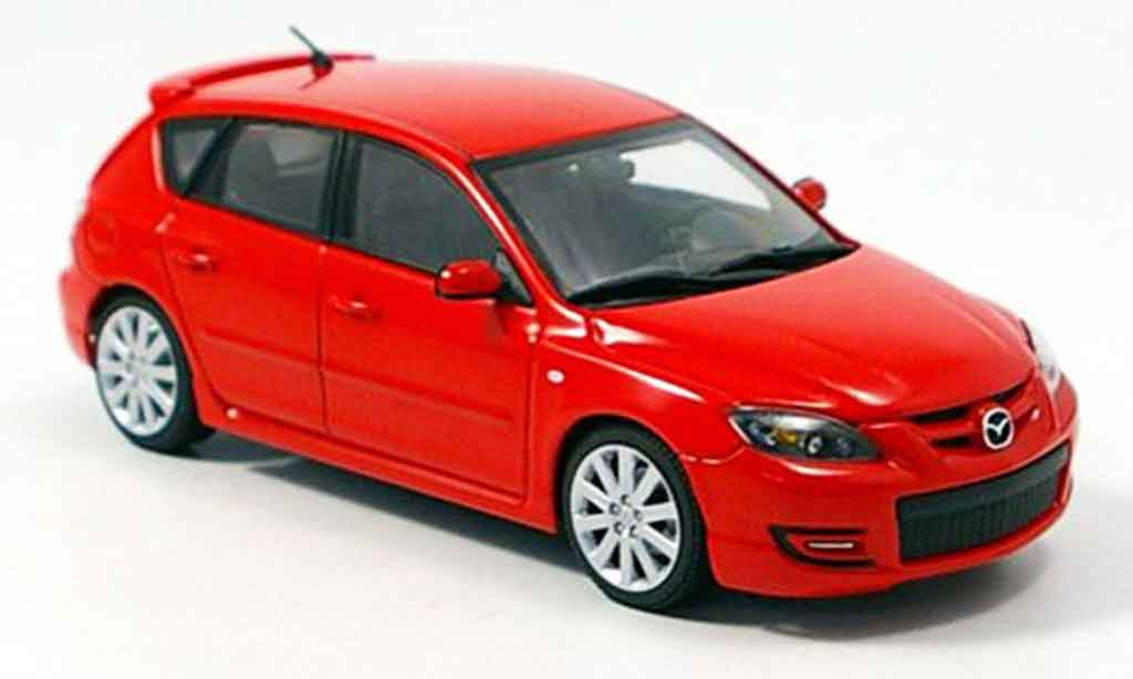 mazda 3 3 mps rot autoart modellauto 1 43 kaufen verkauf modellauto online. Black Bedroom Furniture Sets. Home Design Ideas