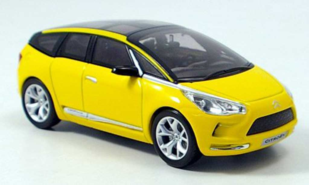 Citroen C Sportlounge 1/43 Norev jaune 2006 miniature