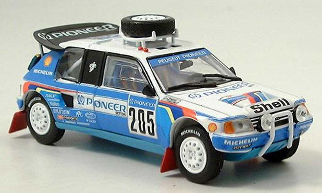 Peugeot 205 Turbo 16 1/43 Norev Dakar 1988 T16 miniature