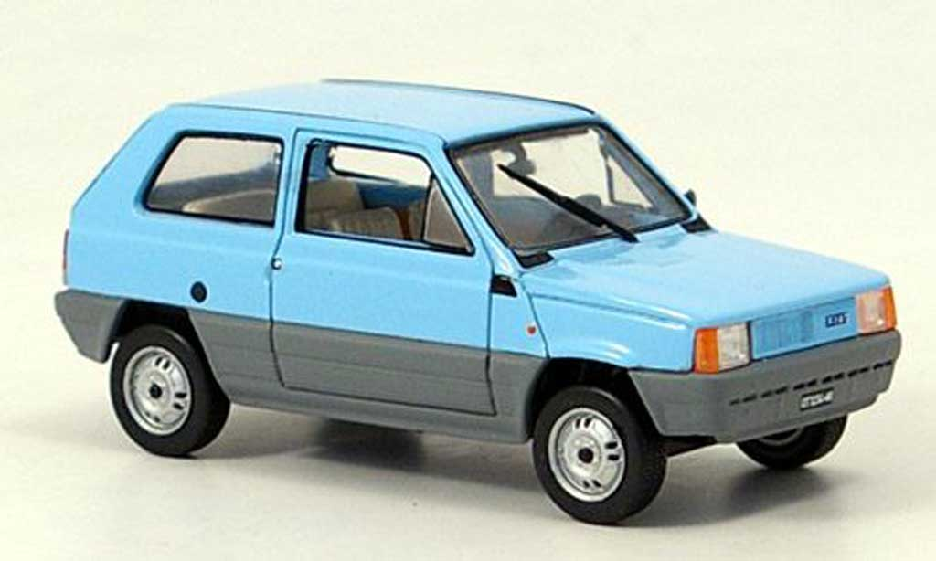 fiat panda miniature bleu grise 1980 norev 1 43 voiture. Black Bedroom Furniture Sets. Home Design Ideas