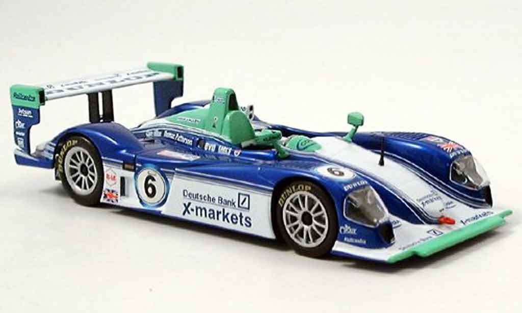 Dallara LMP02 1/43 IXO No.6 LM Short Barff Barbosa 2004 miniature