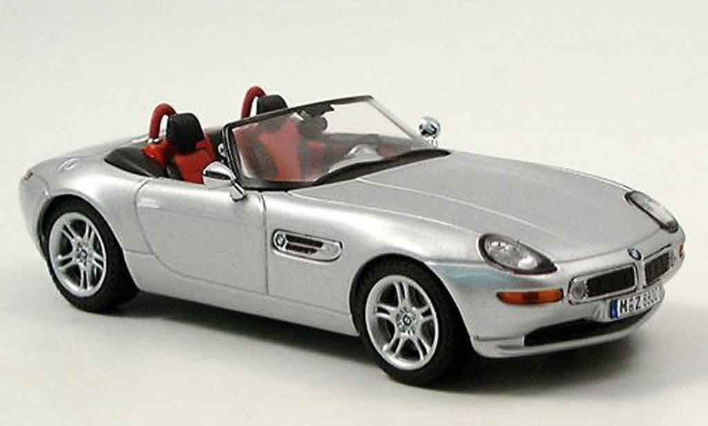 Bmw Z8 1/43 IXO grey metallisee 2001 diecast model cars