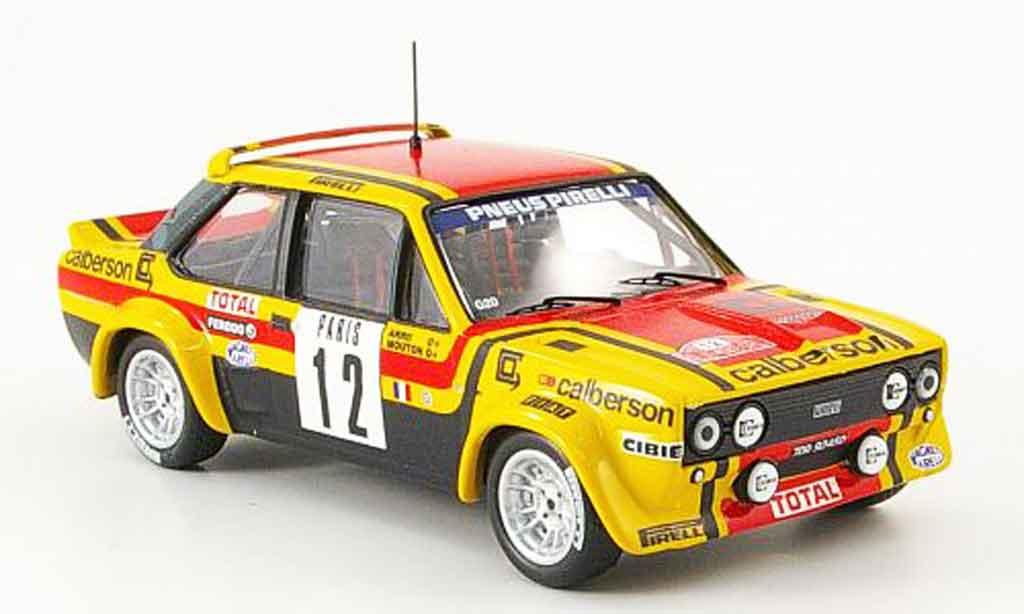 Fiat 131 1/43 IXO Abarth Gr.4 MonteCarlo No.12 Mouto Arrii 1980 miniature
