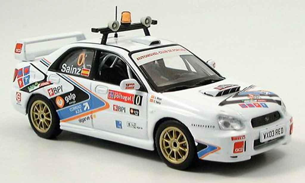 Subaru Impreza WRX 1/43 IXO sainz moya portugal 2005 miniature