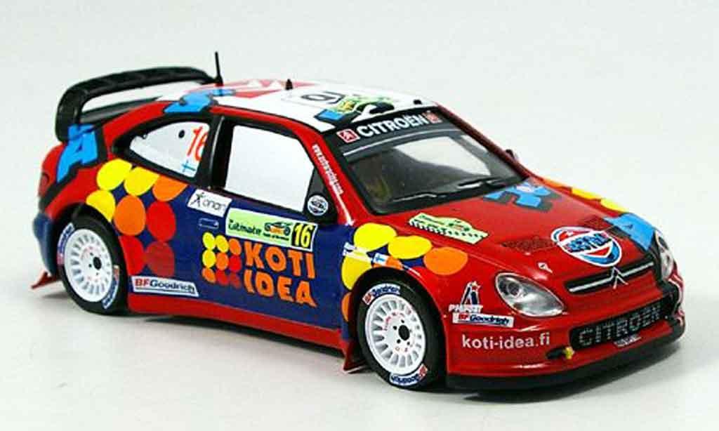 Citroen Xsara WRC 2006 1/43 IXO gardemeister honkanen griechenland miniature