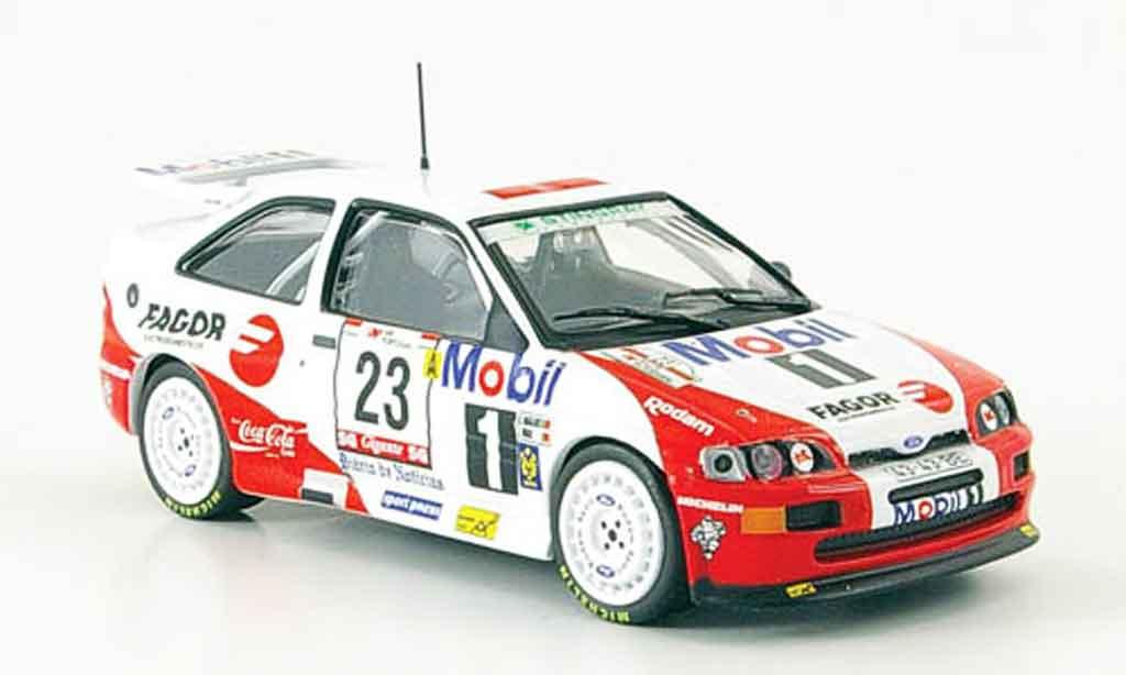 Ford Escort Cosworth 1/43 IXO No.23 Rally Portugal 1994 miniature